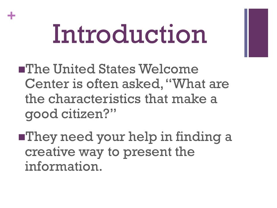A good presentation introduction make This website participates in ...