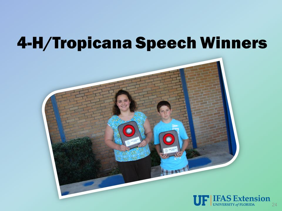 4-H/Tropicana Speech Winners 24