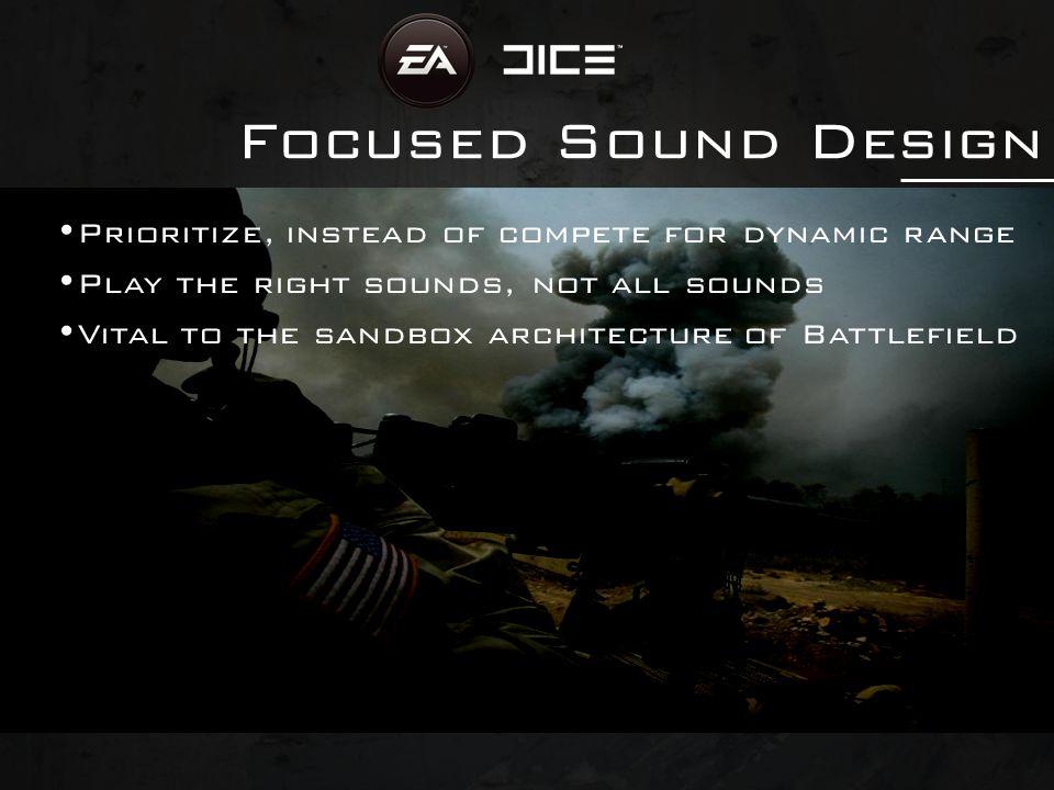 Focused Sound Design