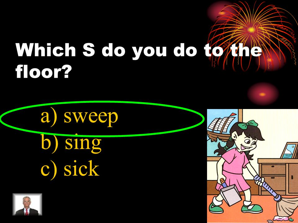 Which C do you do to your home a) call b) colour c) clean