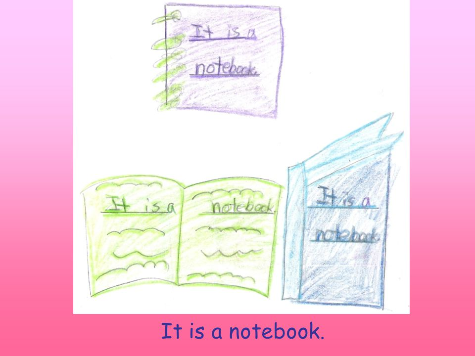 It is a notebook.