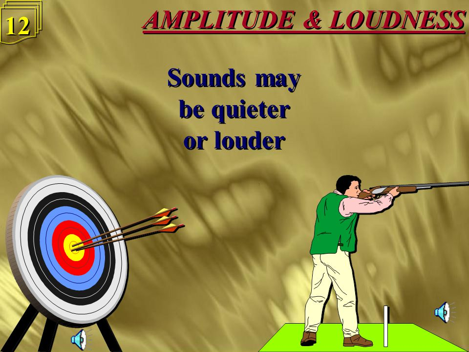 AMPLITUDE & LOUDNESS 11