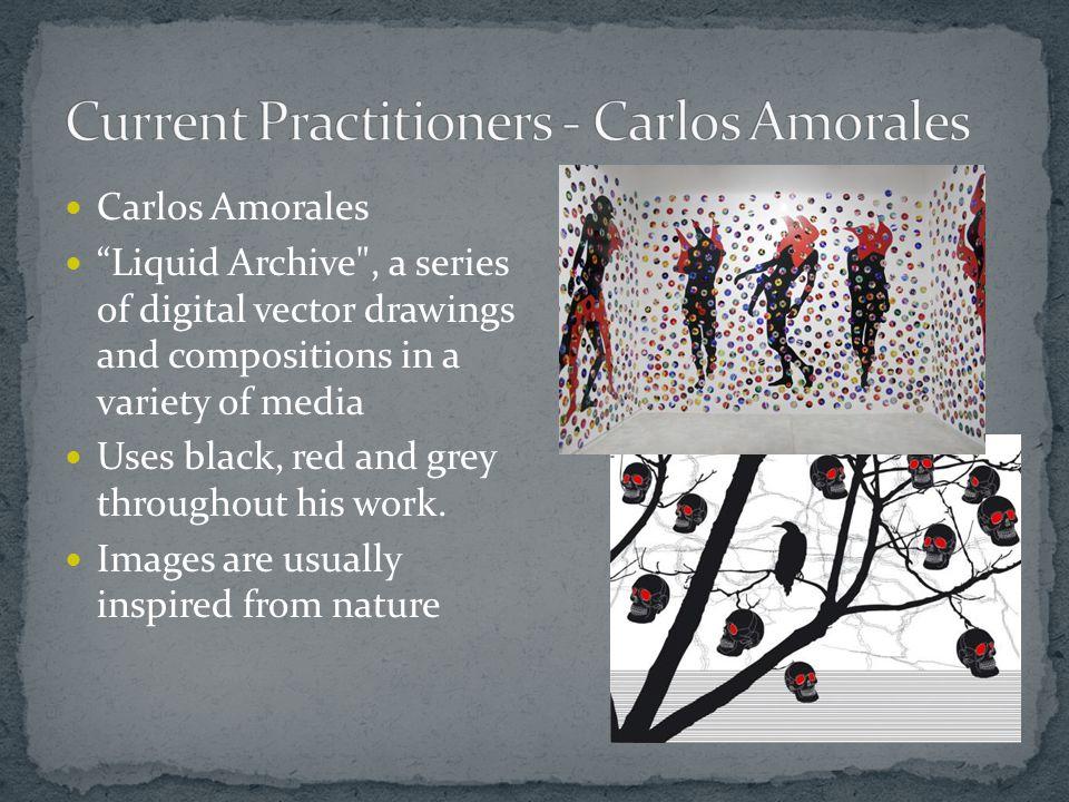 """Carlos Amorales """"Liquid Archive"""