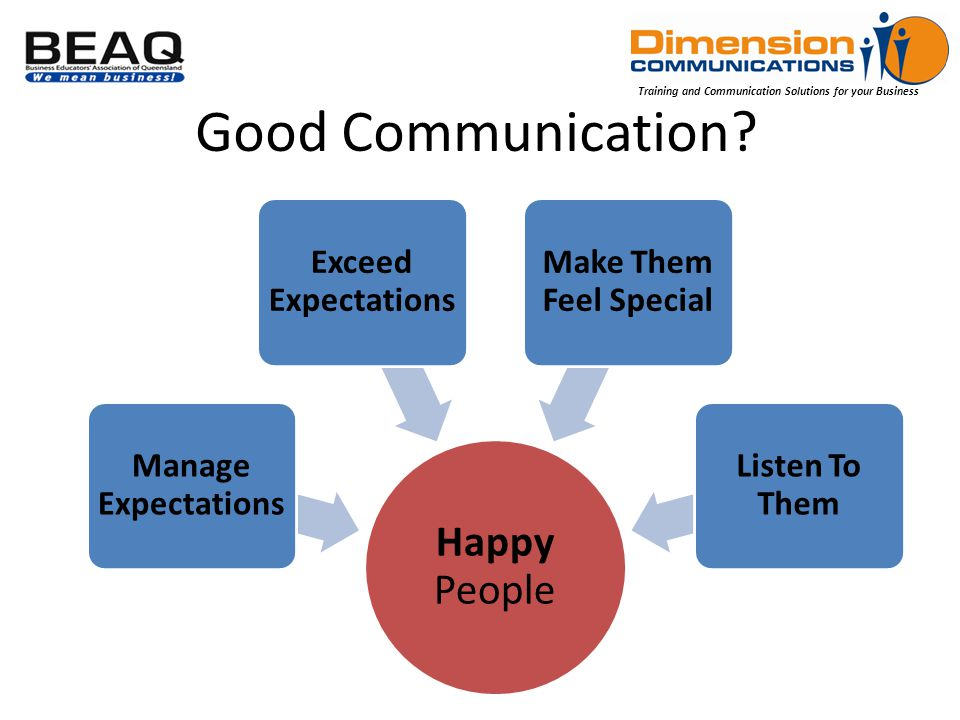 Training and Communication Solutions for your Business Good Communication