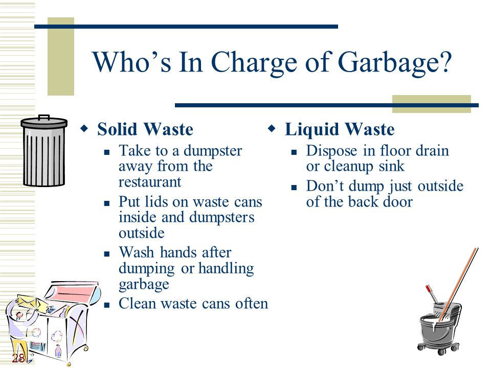 28 Who's In Charge of Garbage.