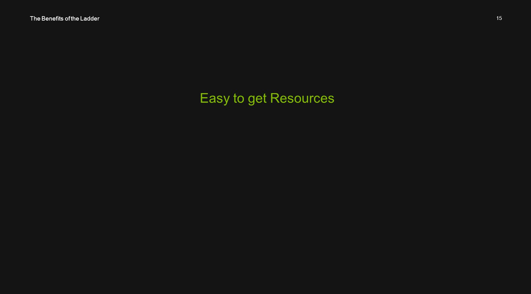 15 Easy to get Resources The Benefits of the Ladder