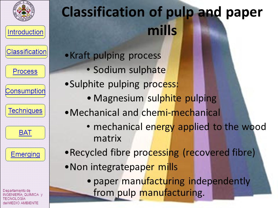 Non integratepaper mills Paper and board manufacturing is described independent from pulp manufacturing.
