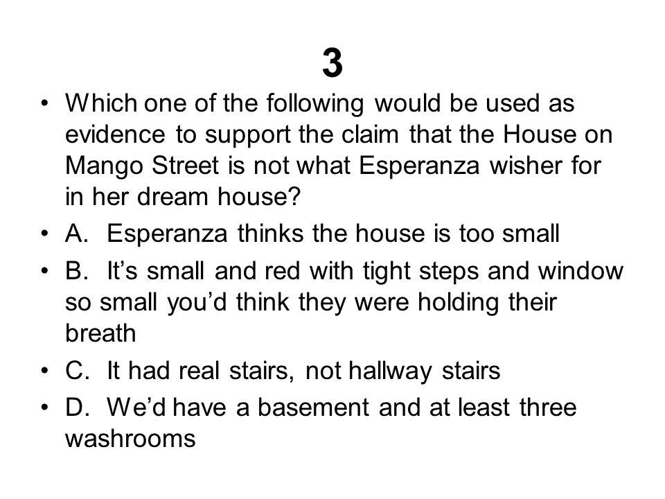Answer B.