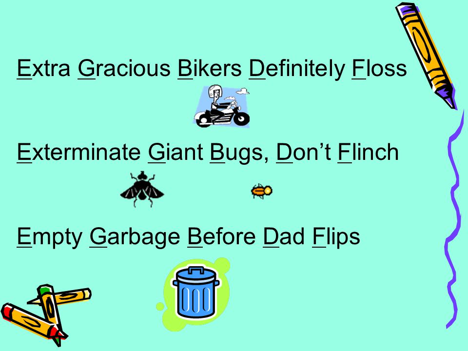 Extra Gracious Bikers Definitely Floss Exterminate Giant Bugs, Don't Flinch Empty Garbage Before Dad Flips