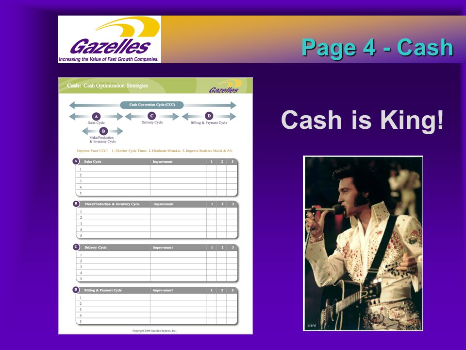 Page 4 - Cash Cash is King!