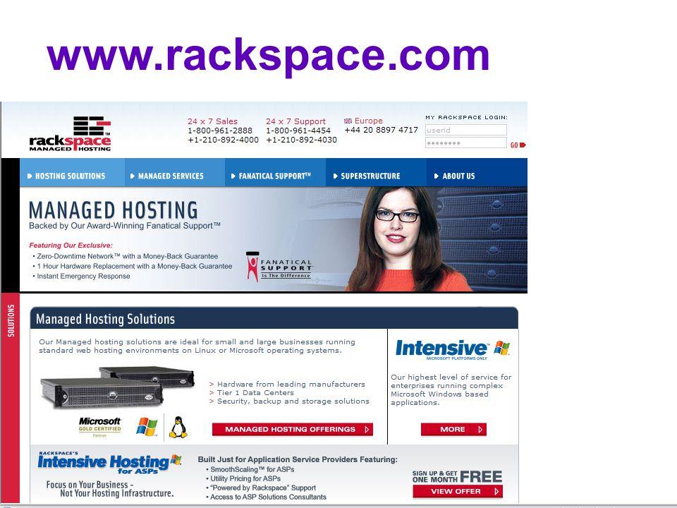 Mars - McDonalds www.rackspace.com
