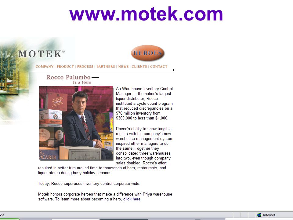 Mars - McDonalds www.motek.com