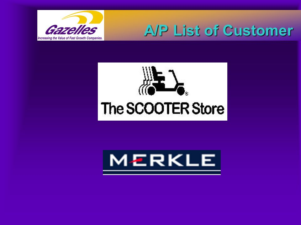 A/P List of Customer
