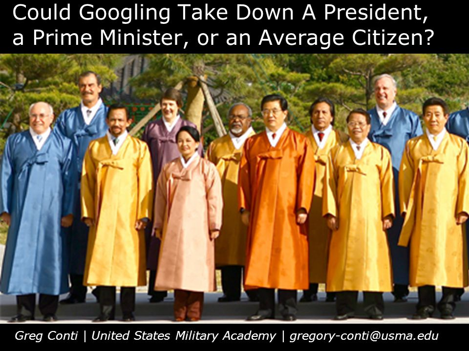 Could Googling Take Down A President, a Prime Minister, or an Average Citizen.