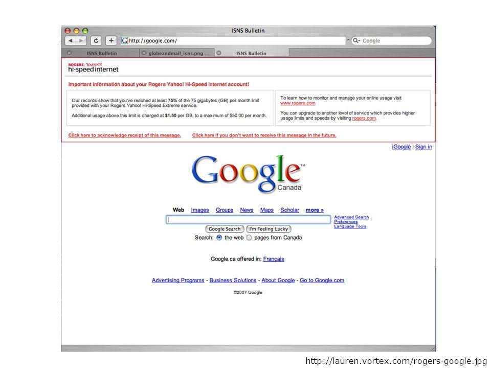 Rogers ISP http://lauren.vortex.com/rogers-google.jpg