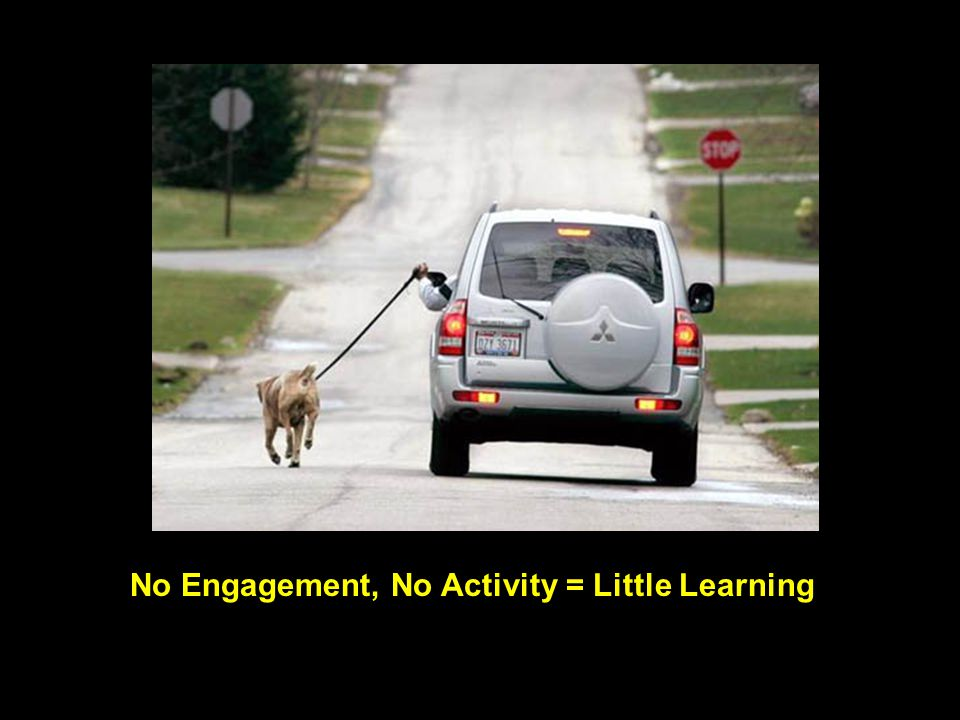 No Engagement, No Activity = Little Learning