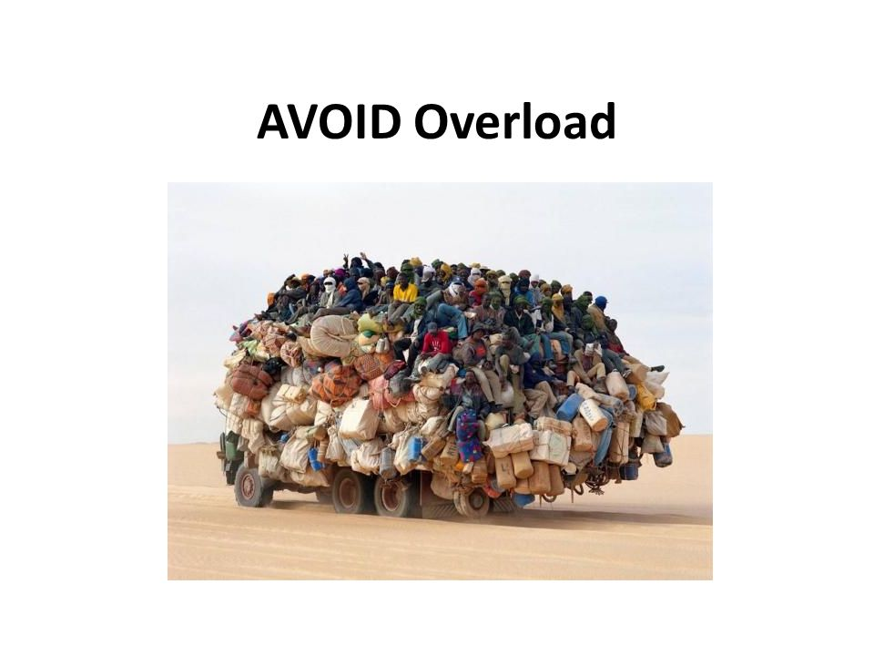 AVOID Overload Overload picture