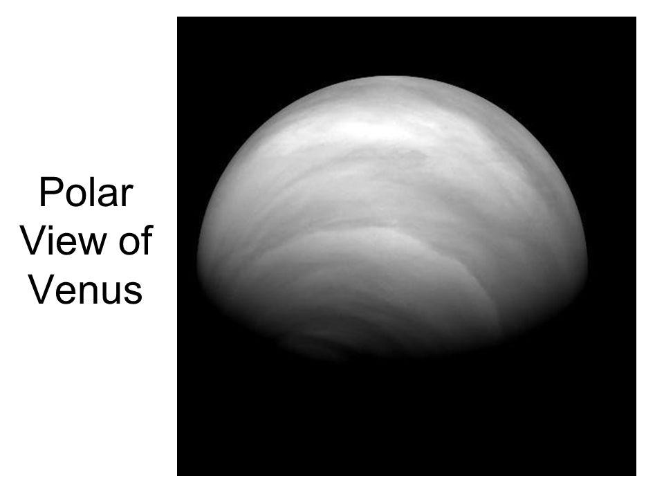 Polar View of Venus