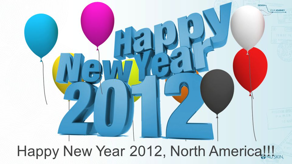 Happy New Year 2012, North America!!!