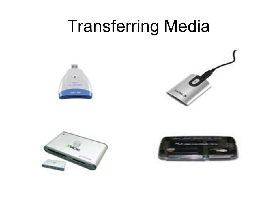 Transferring Media