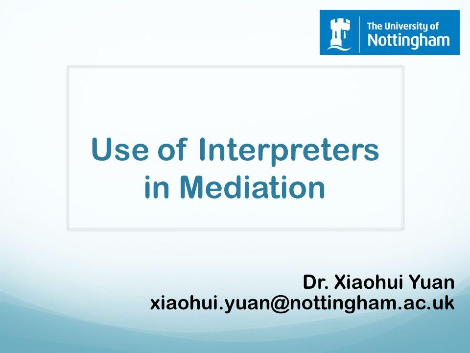 Make sure you use a human interpreter. The machine cannot do the job!