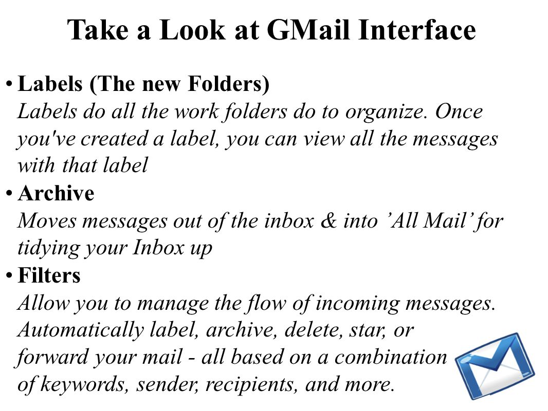 Take a Look at GMail Inbox