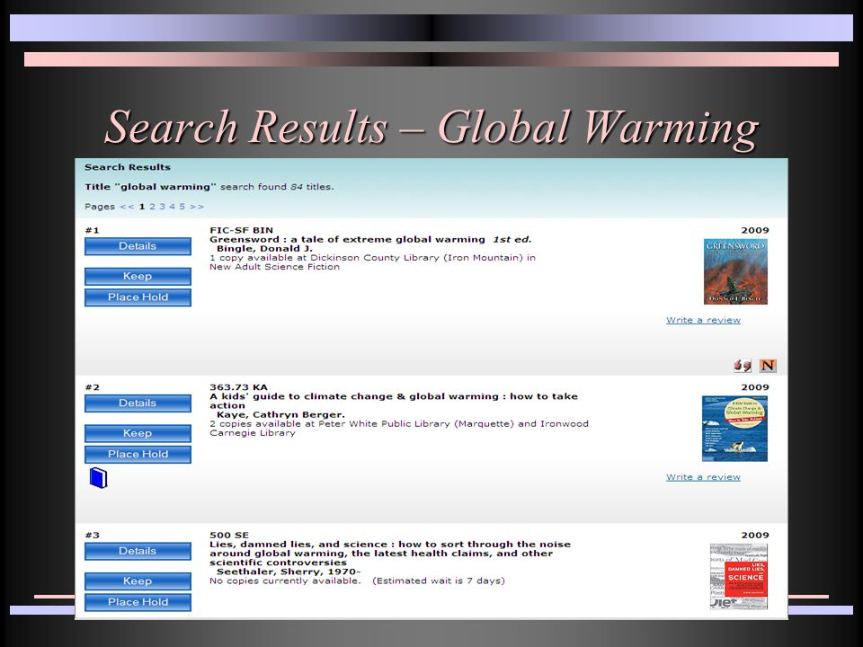 Search Results – Global Warming