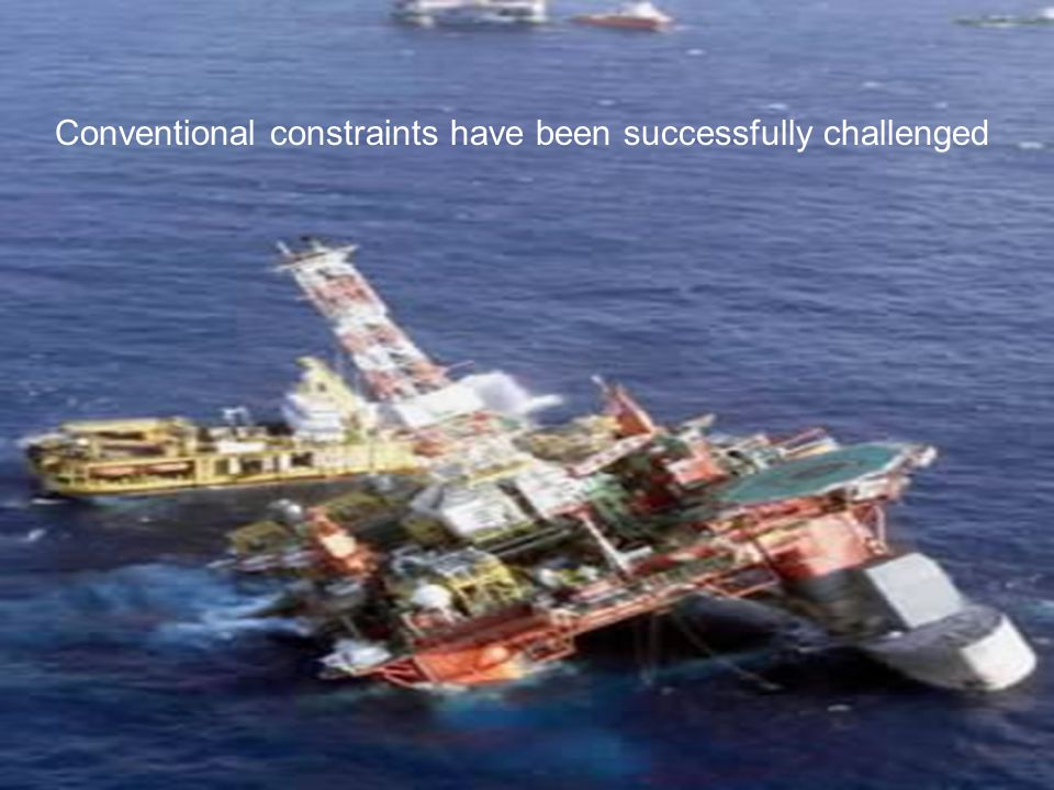 Conventional constraints have been successfully challenged