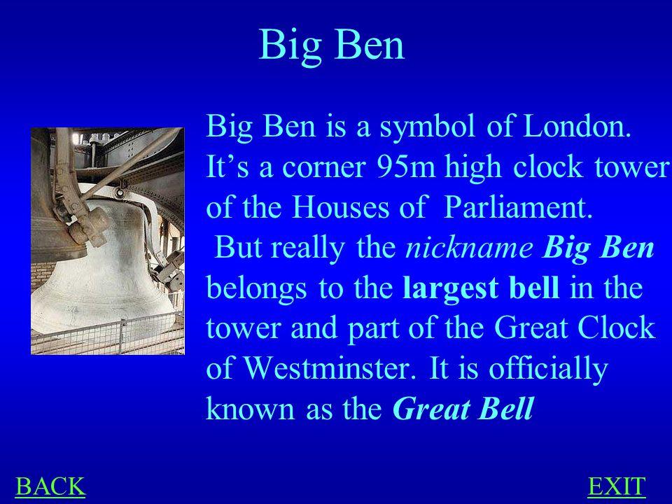LONDON 100 What is 'Big Ben'
