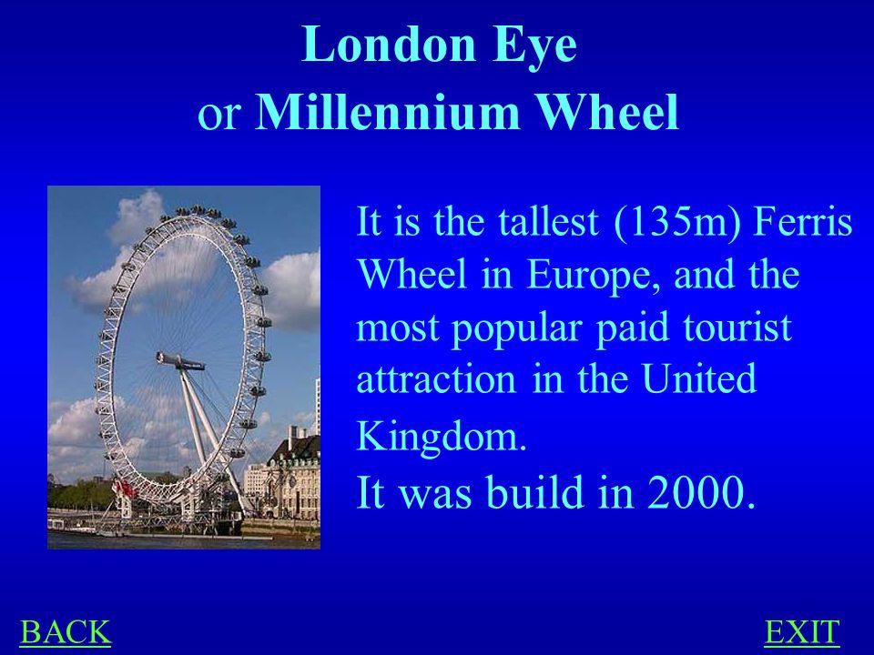 LONDON 300 What is London Eye