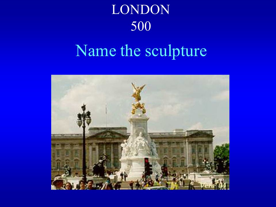 BACKEXIT The statue of Admiral Nelson is on the top of Nelson's Column at the centre of Trafalgar Square.
