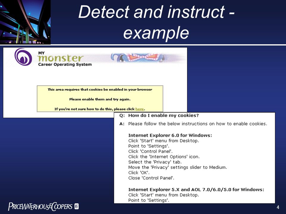 4 Detect and instruct - example