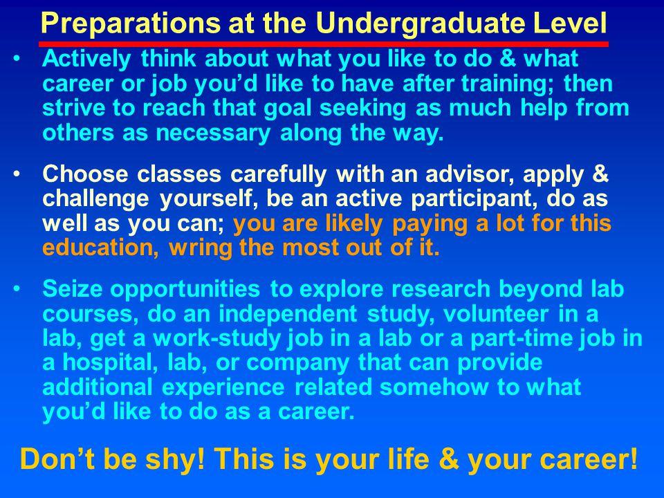 Applications for Jobs RésuméReferencesHomeworkInterviewPunctualityRespectFollow-up