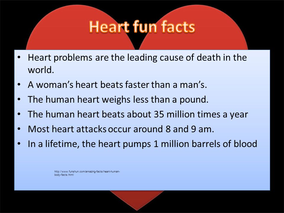 The heart is probably the most important part of the body, and it is probably the first body part you learn.