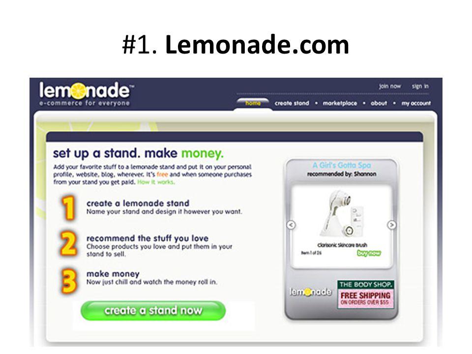 #1. Lemonade.com