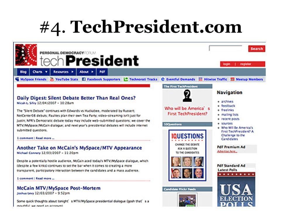 #4. TechPresident.com