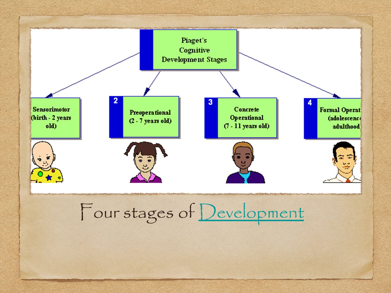 Four stages of DevelopmentDevelopment