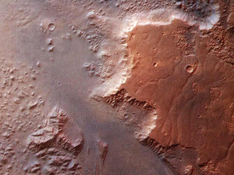 Mars continents