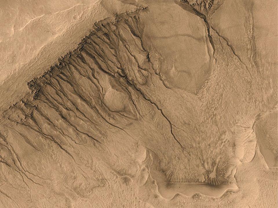 Mars gullies