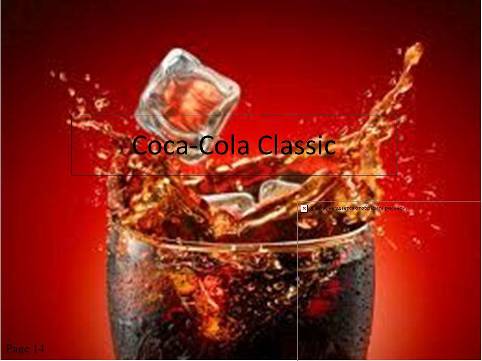 Coca-Cola Classic Page 14
