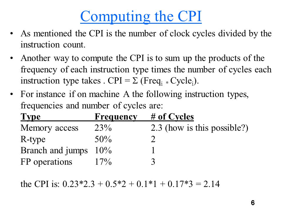 7 Benchmarks What program do we use to evaluate a computer.