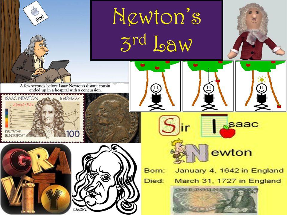 Newton's 3 rd Law
