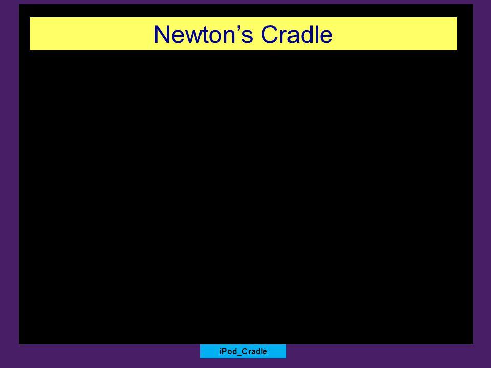 iPod_Cradle Newton's Cradle