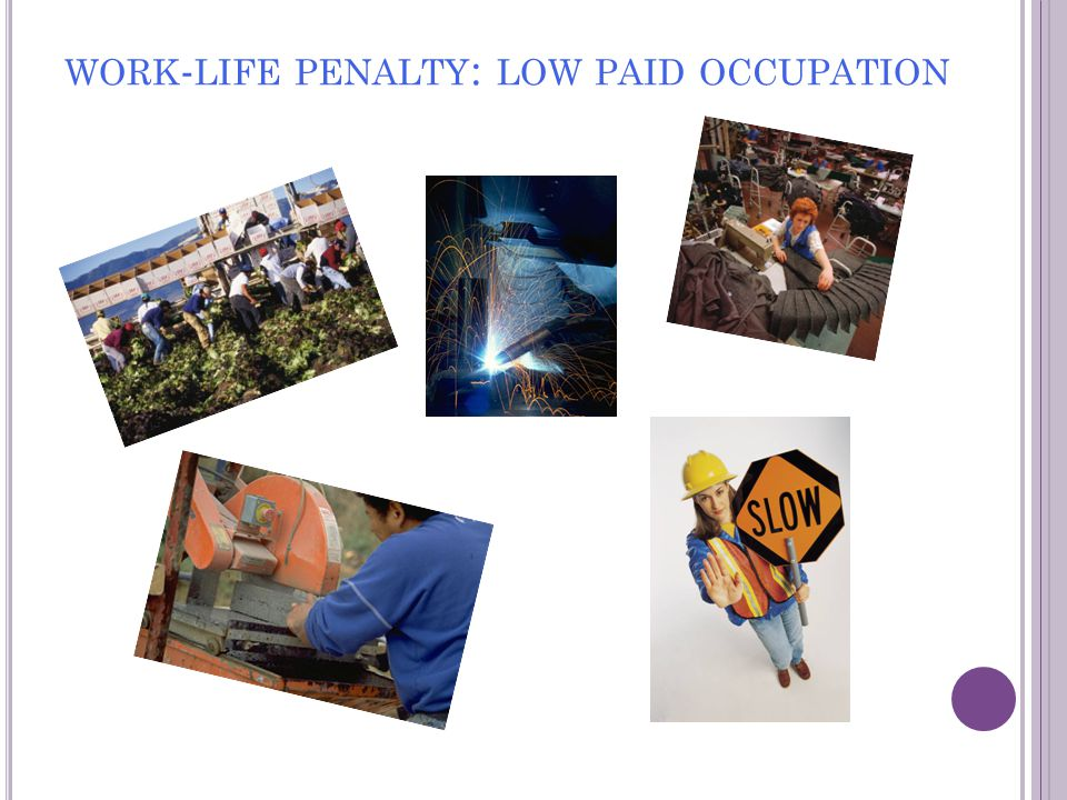 NCVER O CCASIONAL P APER 'Low-paid workers, changing patterns of work and life, and participation in vocational education and training: A discussion starter ' Barbara Pocock (2009) Download: CWL & NCVER websites