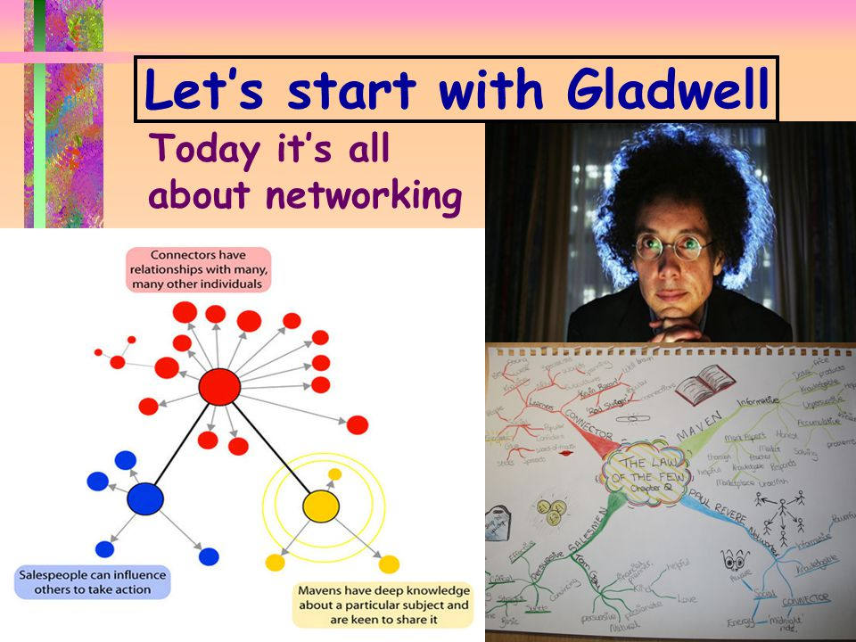 P ORTLAND L EADER S HIP I N S TITUTE N OURISH THE L EADER W ITHIN Y OU d www.portlandleadershipinstitute.com d Let's start with Gladwell Today it's all about networking