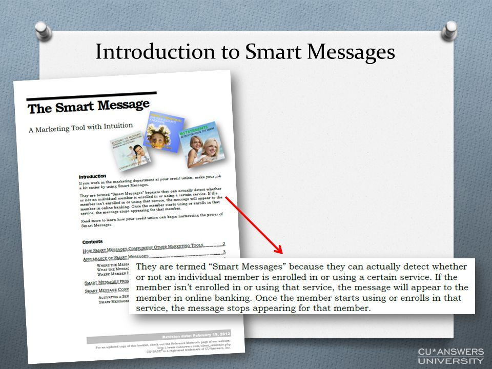 Introduction to Smart Messages