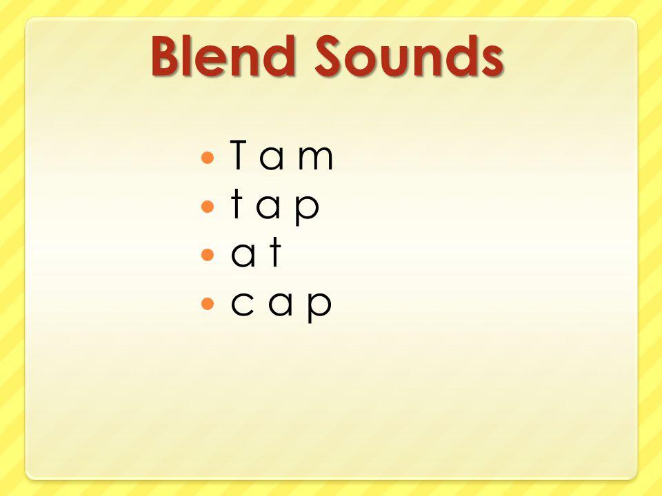 Blend Sounds T a m t a p a t c a p