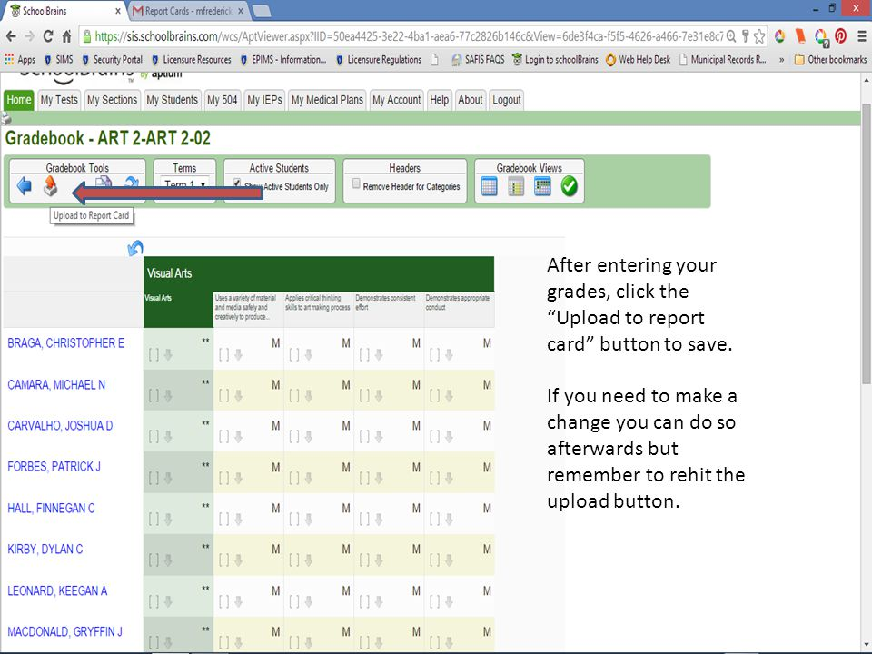 If you want to undue ALL grades, you can do so at any time by clicking this button here.