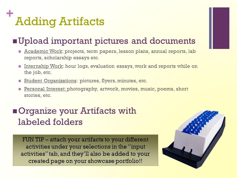 + You've Created a Showcase Portfolio!.