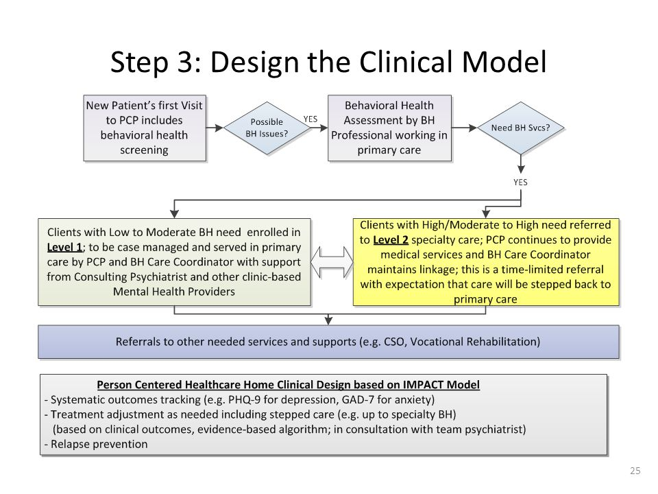 Step 3: Design the Clinical Model 25